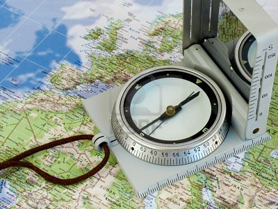 10936316-navigate-with-compass-map-of-europe-and-north-africa