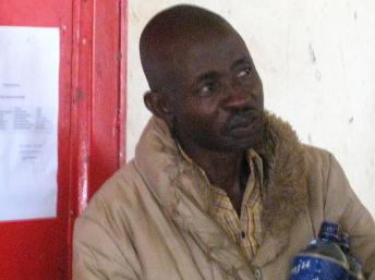 Hassan Ruvakuki in court in Cankuzo in January   RFI/Esdras Ndikumana