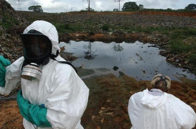 AJE toxix waste Ivory Coast