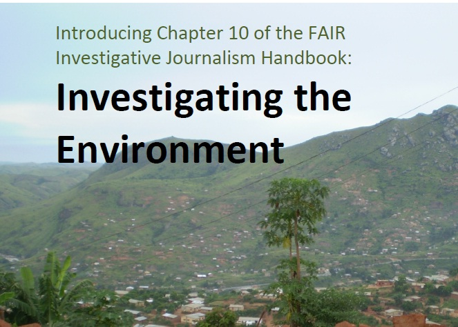 Toolkit on Investigating Environmental Issues for African Media Workers