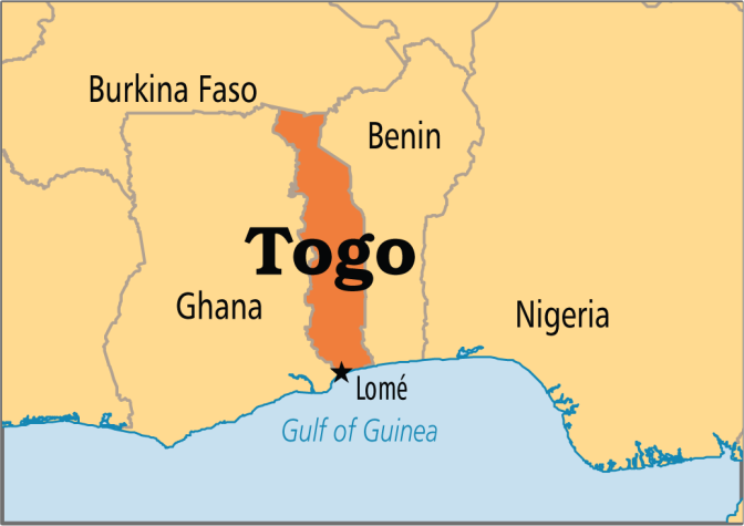 In Togo, police attack journalists protesting media law