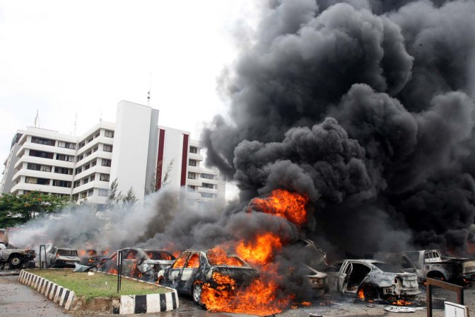 Boko Haram attack on Police Headquarters
