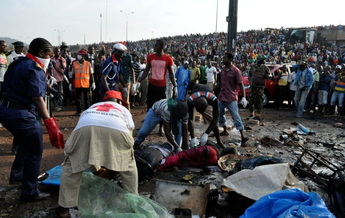 Nigeria Blast Kills Dozens as Militants Hit Capital
