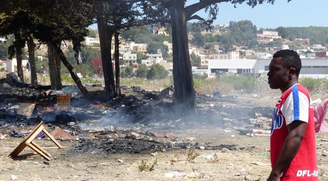 Maroc: meurtrière chasse aux migrants à Tanger